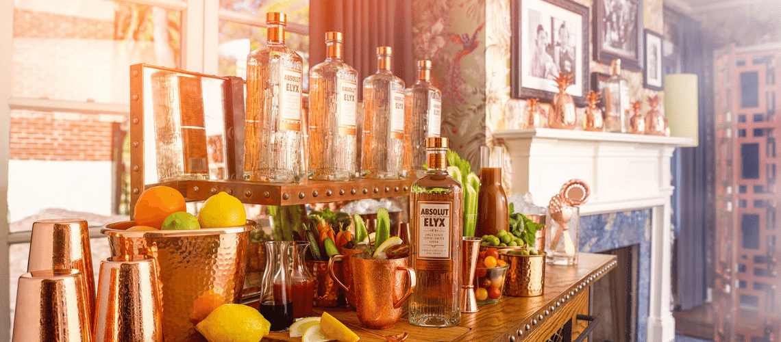 Cocktail Recipes made with Absolut Elyx