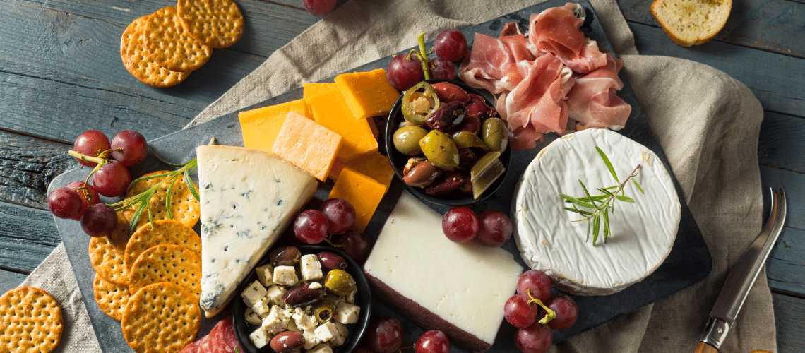 Next Level Charcuterie Boards and Wine Pairings