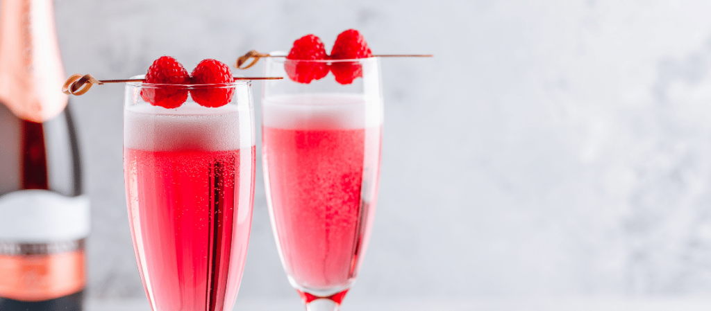 Perfectly Pink Valentine's Day Mimosa